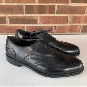 Dexter black leather Oxford shoes men's US 14 M